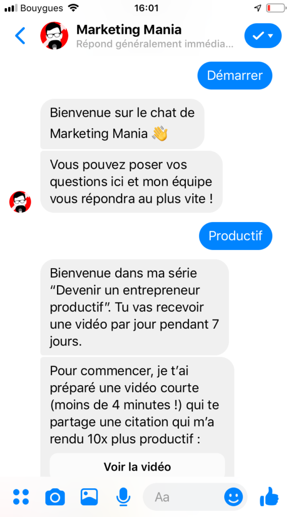 Chatbot Marketing Mania